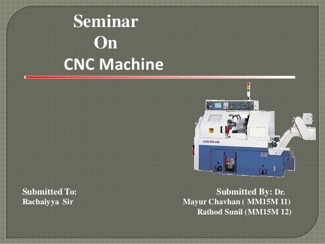 Mechanical CNC machine