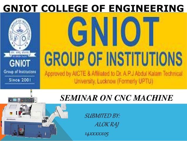 Mechnical cnc machines ppt