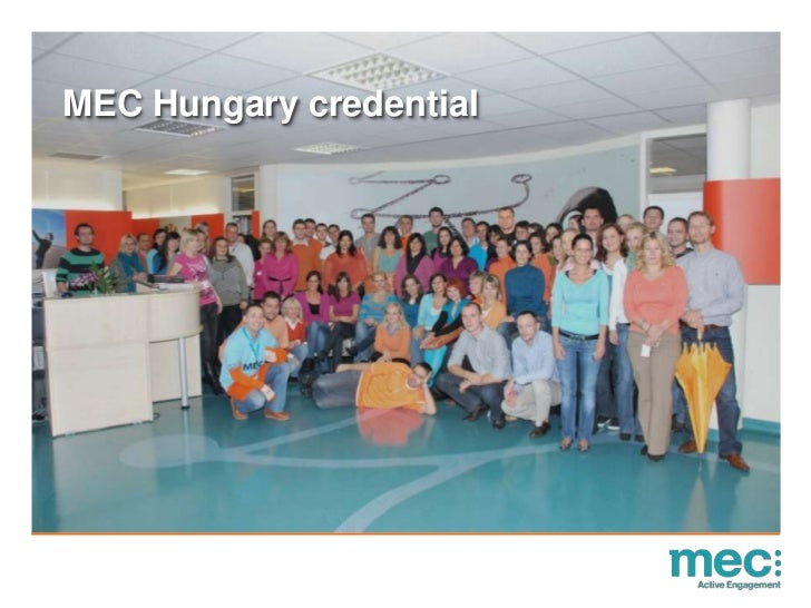 MEC Hungary credential<br />