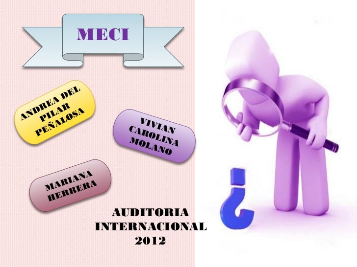 MECI   AUDITORIA INTERNACIONAL      2012