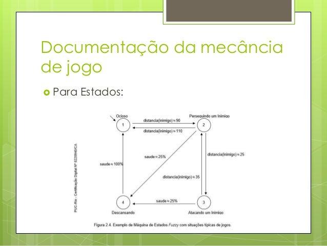 Documentação da mecância de jogo  Para   as Regras:  Objetivo {}:  Id;  Objetos  envolvidos;  Descrição.