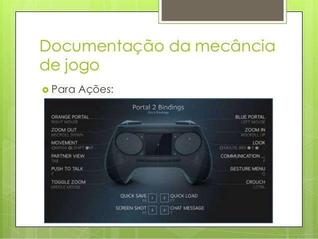 Documentação da mecância de jogo  Para  as Regras: