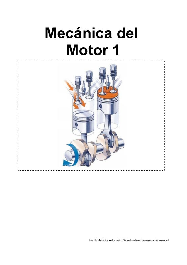 Mecánica del Motor 1 Mundo Mecánica Automotriz. Todos los derechos reservados reserved.