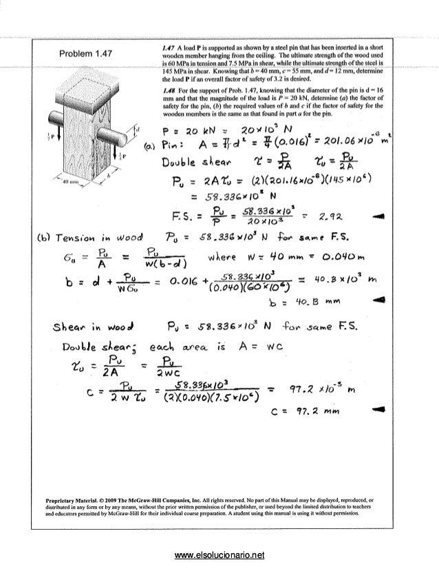 Hibbeler pdf de materiales mecanica