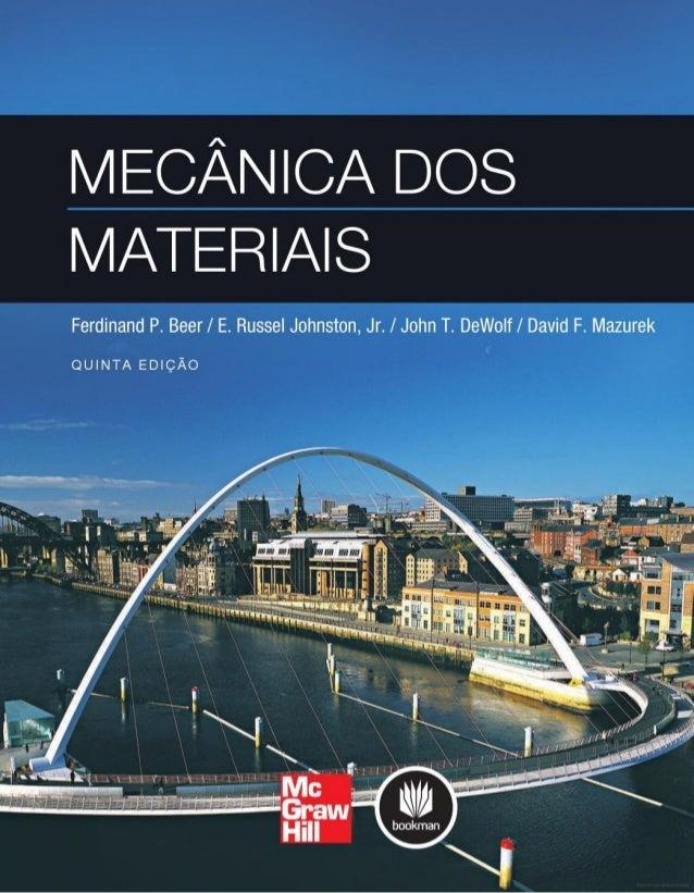 Mecânica dos materiais   5 ed.