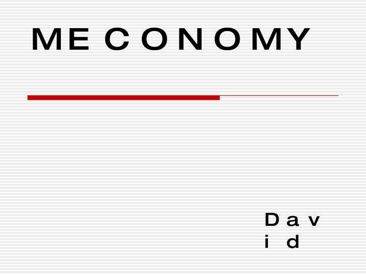 MECONOMY David