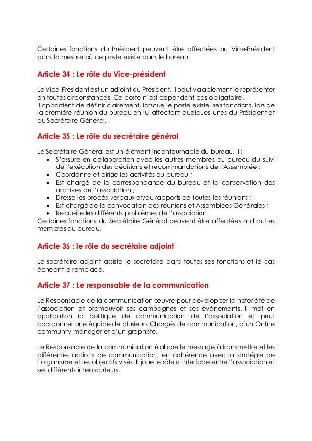 Statut De L Association Mauritanian Engineering Community