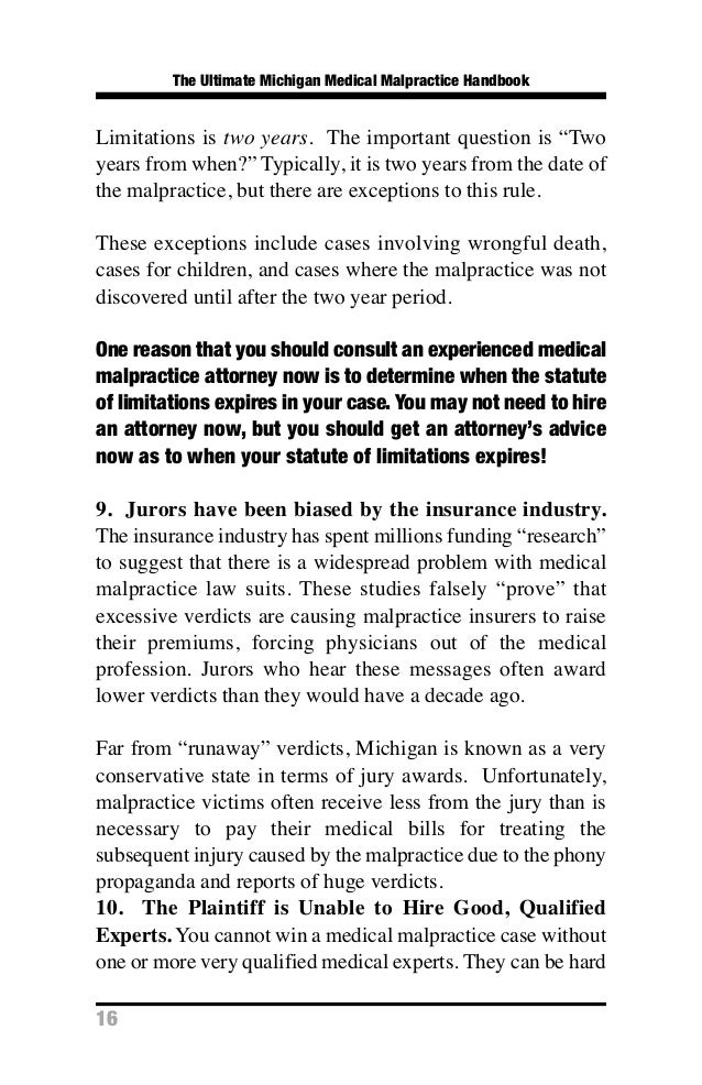 Medical malpractice problems in florida essay