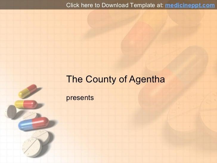 Medicine Pills Powerpoint Template