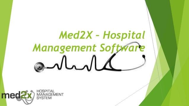 Med2X – Hospital Management Software