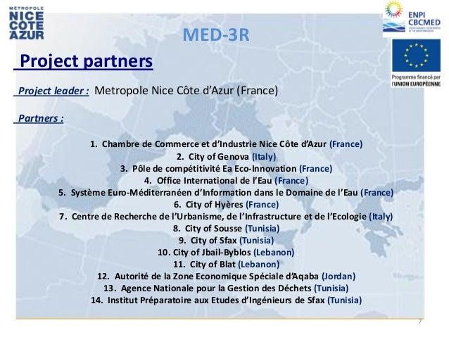 17 i 18 12 2012 seminari europeu cloenda life cor - Chambre de commerce et d industrie nice ...