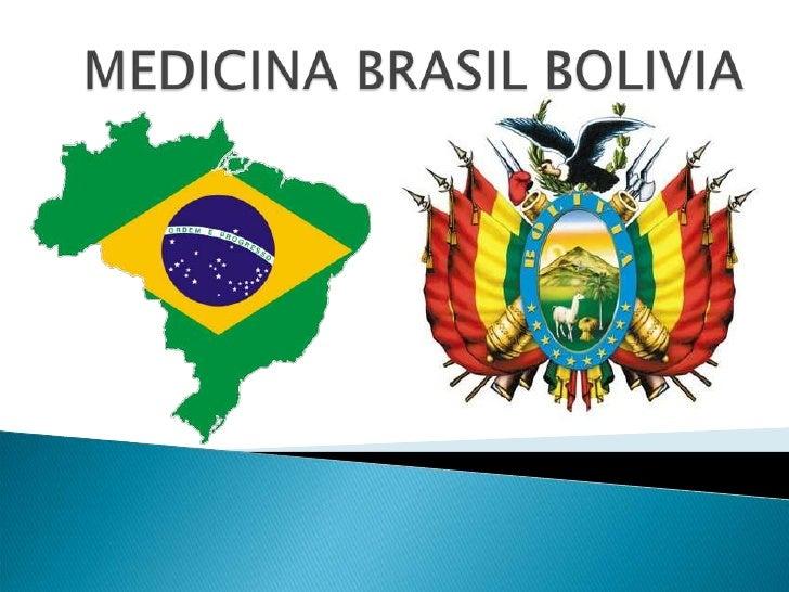 MEDICINA BRASIL BOLIVIA<br />