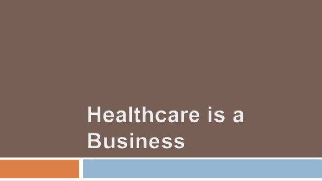  Understand the Size and scope of the healthcare industry Forces changing the healthcare industry Challenges facing the h...