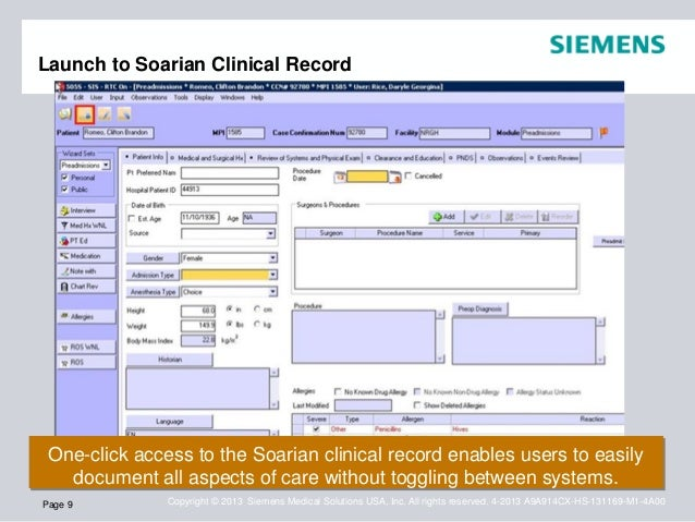Medcentral Health System Streamlines Perioperative Workflow