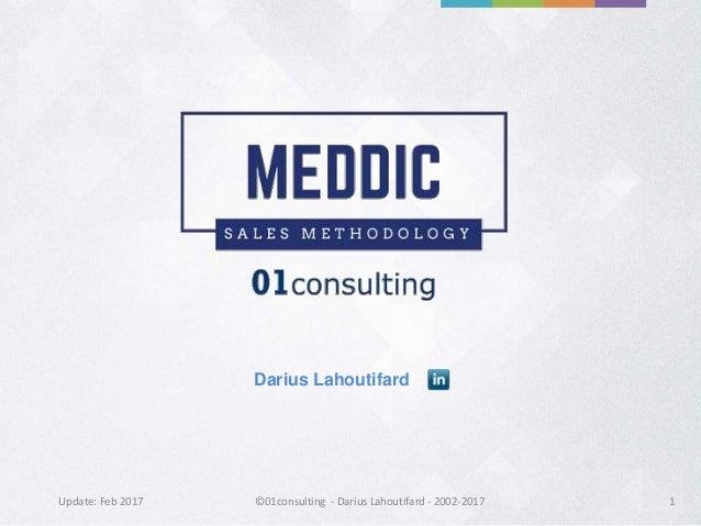 Meddic sales methodology by MEDDIC ACADEMY