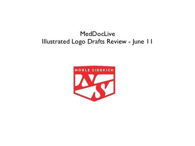 MedDocLiveIllustrated Logo Drafts Review - June 11