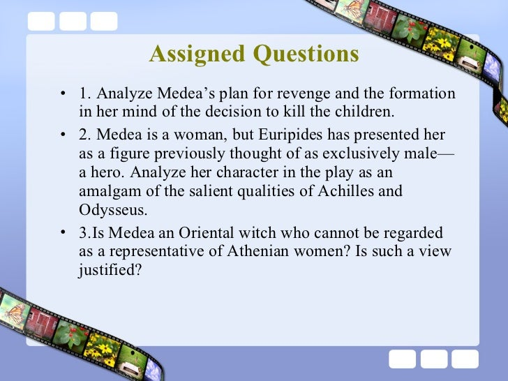 The events that triggered medeas anger in the play of euripides