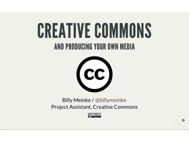 MEDEAnet Webinar - CC and Producing Media, June 6 2013