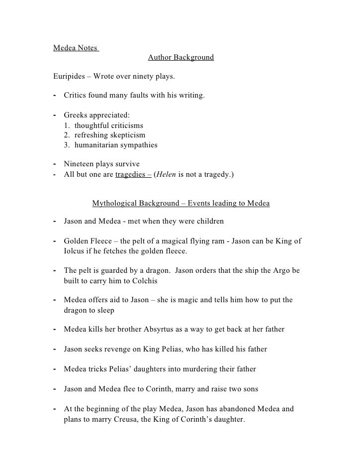 medea euripides analysis In the play medea, by euripides, many techniques are incorporated to augment  the compelling persona of the protagonist, medea she has an.