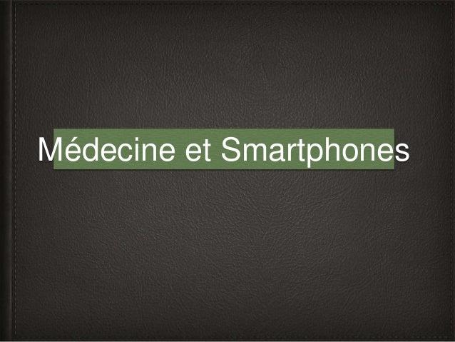 Médecine et Smartphones