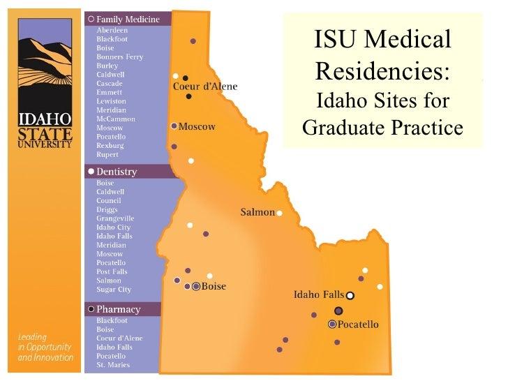 Idaho State Campus Map.Medical Education At Idaho State University