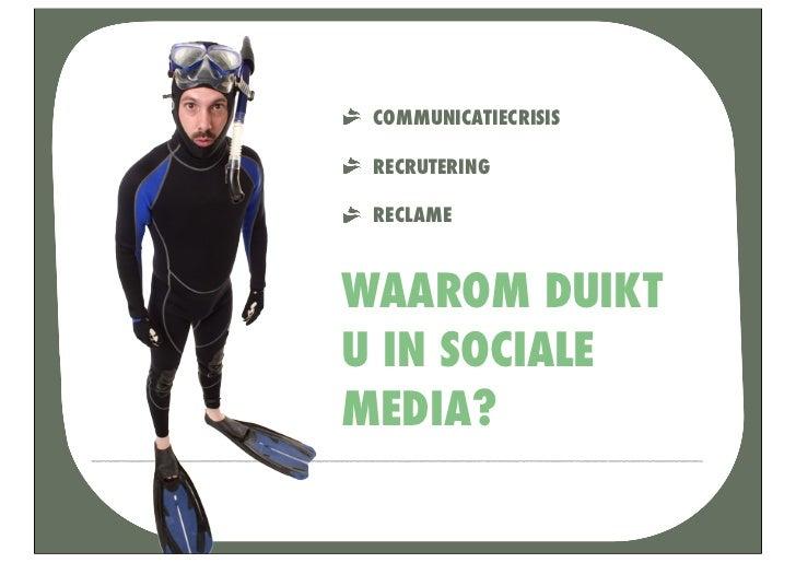 DE SOCIALE MEDIACONSULTANT LOST ALLES OPOF VERBERGT HIJ UW PROBLEMEN?                          ia              Social Med ...