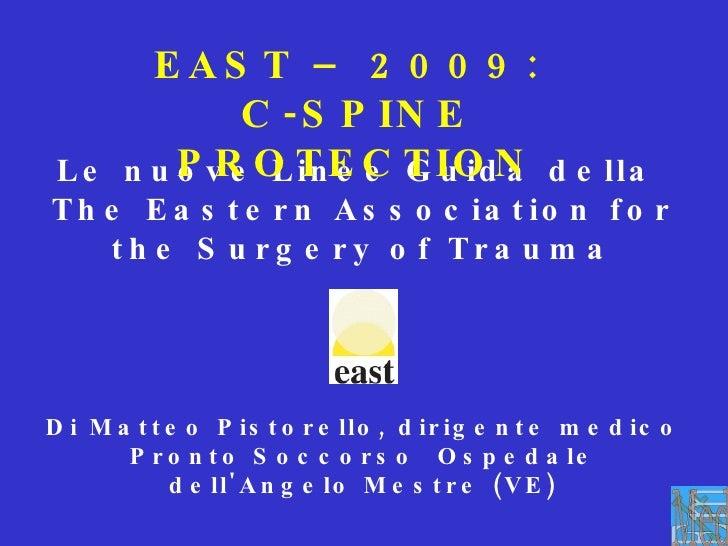 Le nuove Linee Guida della  The Eastern Association for the Surgery of Trauma Di Matteo Pistorello, dirigente medico Pront...