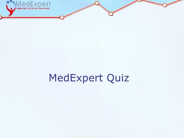 MedExpert Quiz