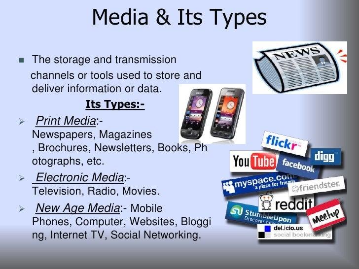 different types of social media pdf