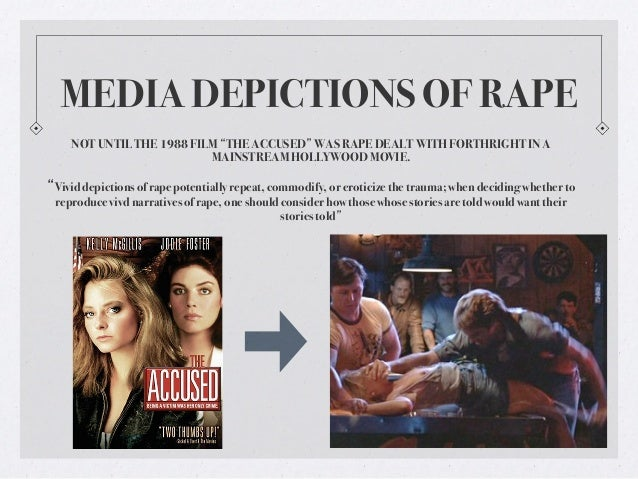 gender communication in media 13 media depictions of rape not until the 1988 film ""