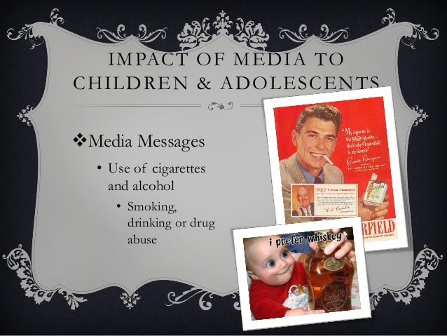 the negative influence of media violence on the american children and adolescents Media violence effects on children, adolescents and easily and inexpensively reduce a child's exposure to media violence children, adolescents and.