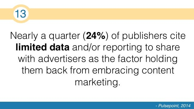 Nearly a quarter (24%) of publishers cite limited data and/or reporting to share with advertisers as the factor holding th...