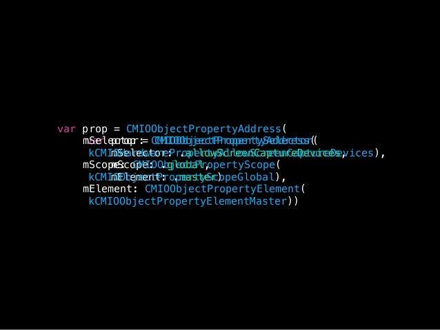 Pointer arithmetic! // swap packets inside transfer buffer for i in 0..<packetsToTransfer/2 { let swapSrc = transferBuffer...
