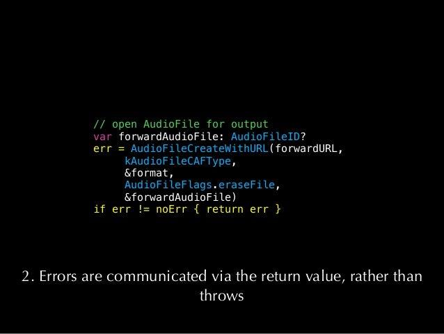 // Block which subclassers must provide to implement rendering. - (AUInternalRenderBlock)internalRenderBlock { // Capture ...
