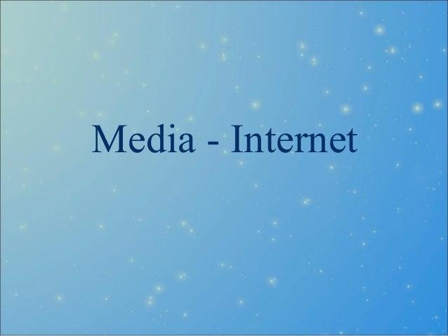 Media - Internet