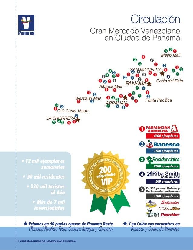 Metro Mall Costa del Este 1 3 5 3 3 1 4 3 3 21 SAN MIGUELITO2 1 22 5 5 15 PANAMÁ Punta Pacífica 1 3 1 1 2 2 Westland Mall 1...