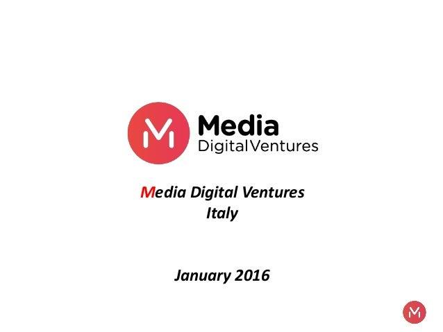 Cos'è il media for equity e quando arriverà in Italia  Slide 2