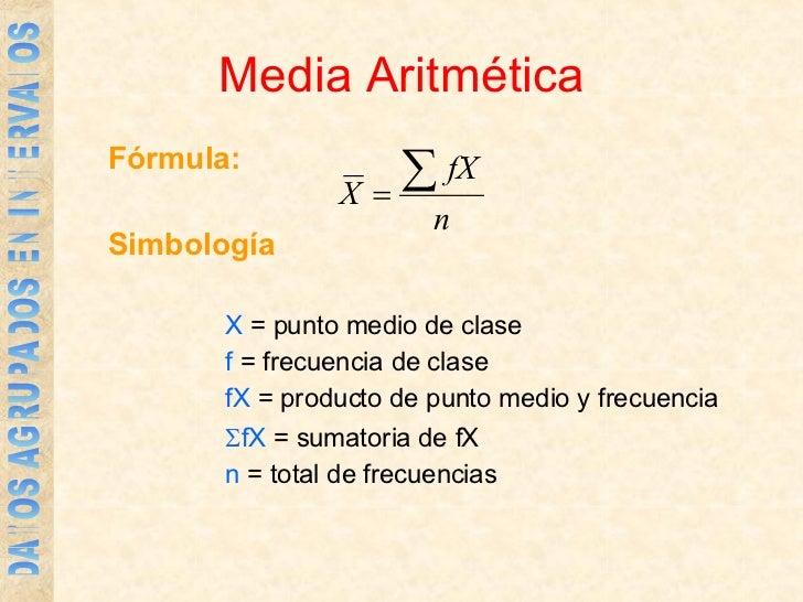 Media Mediana Y Moda De Datos Agrupados