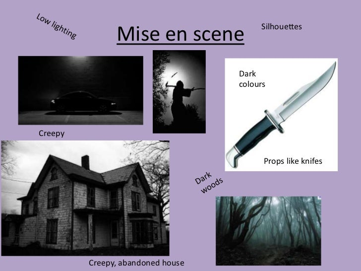 Silhouettes               Mise en scene                                   Dark                                   coloursCr...