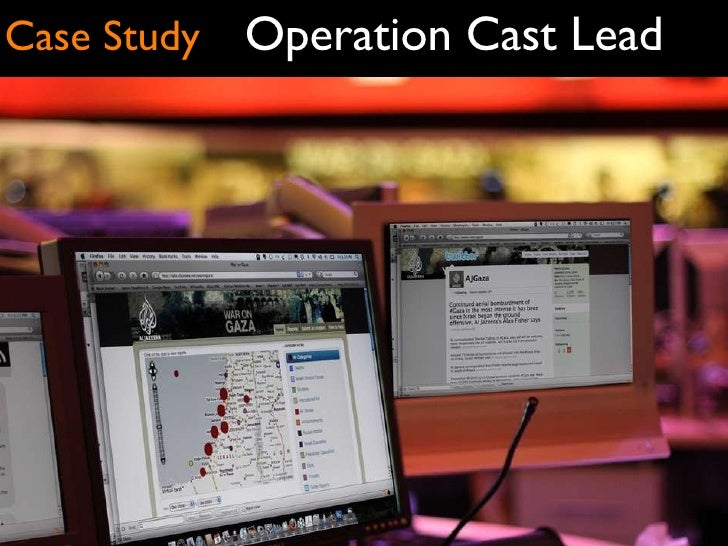 Operation Cast Lead Case Study