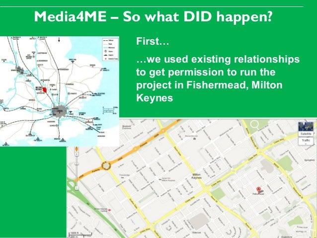 Media4ME in Milton Keynes, Media4ME Conference, Utrecht, 21 Feb 2013 Slide 3