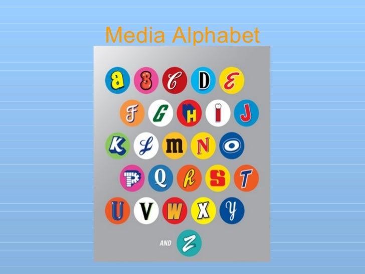 Media Alphabet