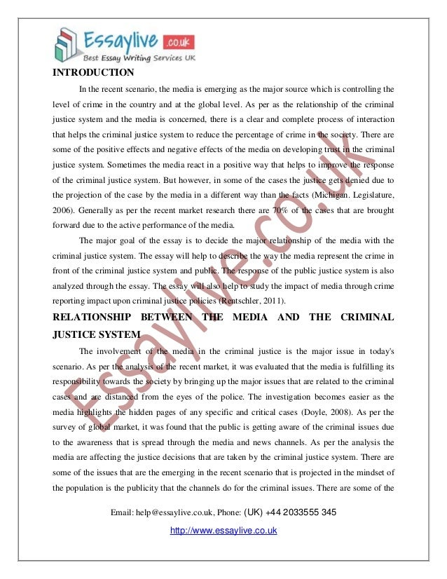Law and Justice Essay Help