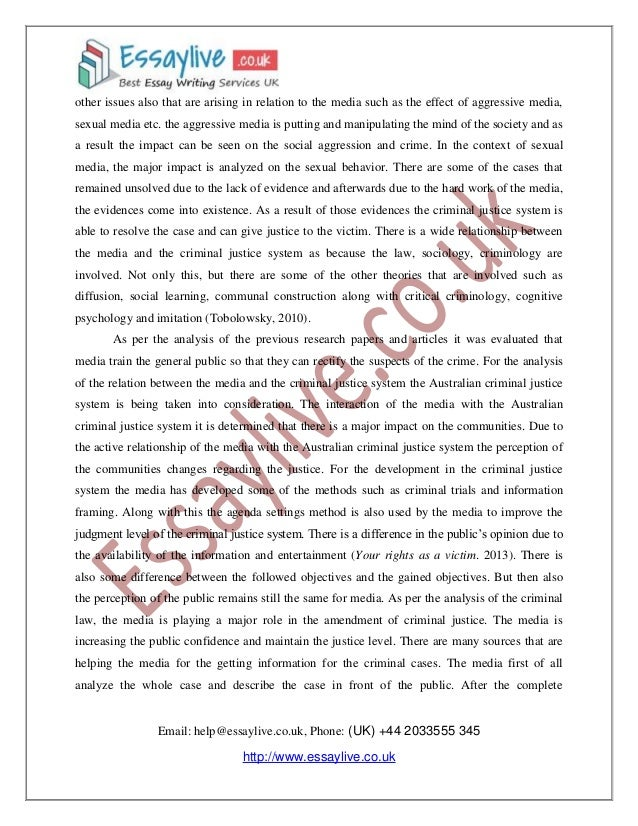 College application report writing muir
