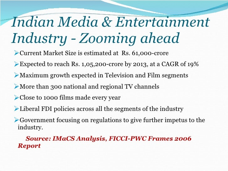 indias media and entertainment industry 'indian media and entertainment industry at digital tipping point': report hindi films contribute almost 40% of the net box office every year.