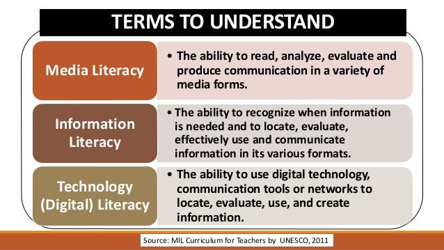 Venn Diagram About Media And Information Literacy Diy Enthusiasts