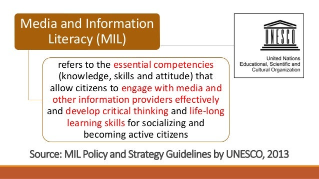 an introduction to the information literacy and communication skills Information literacy competency standards for  the growth of information literacy skills over the  or communication of health information.