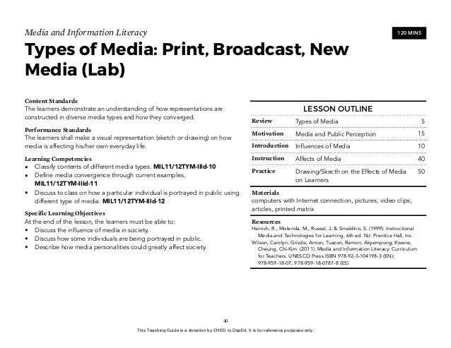 New Media To Share Knowledge And Information On A Current Issue In Society