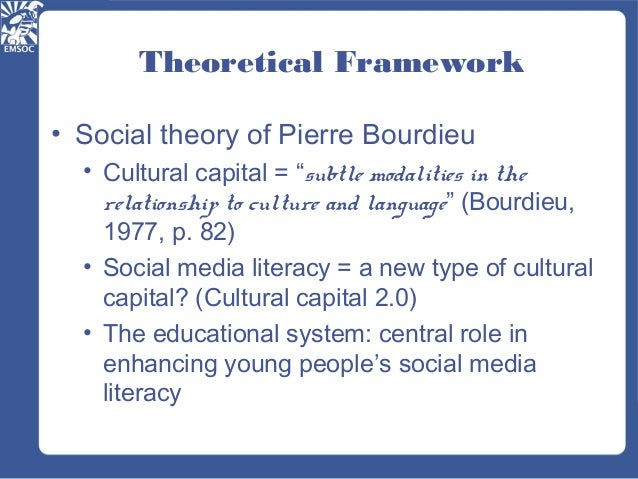 the theories of pierre bourdieu Can morality be founded on hypocrisy what is the subject of action in this new volume, one of france's foremost social thinkers of our time responds to these major questions and to others, thus tracing the outlines of a work that could be called pierre bourdieu by himself in these texts, the author tries to go to the essential,.