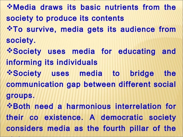media and its social responsibility